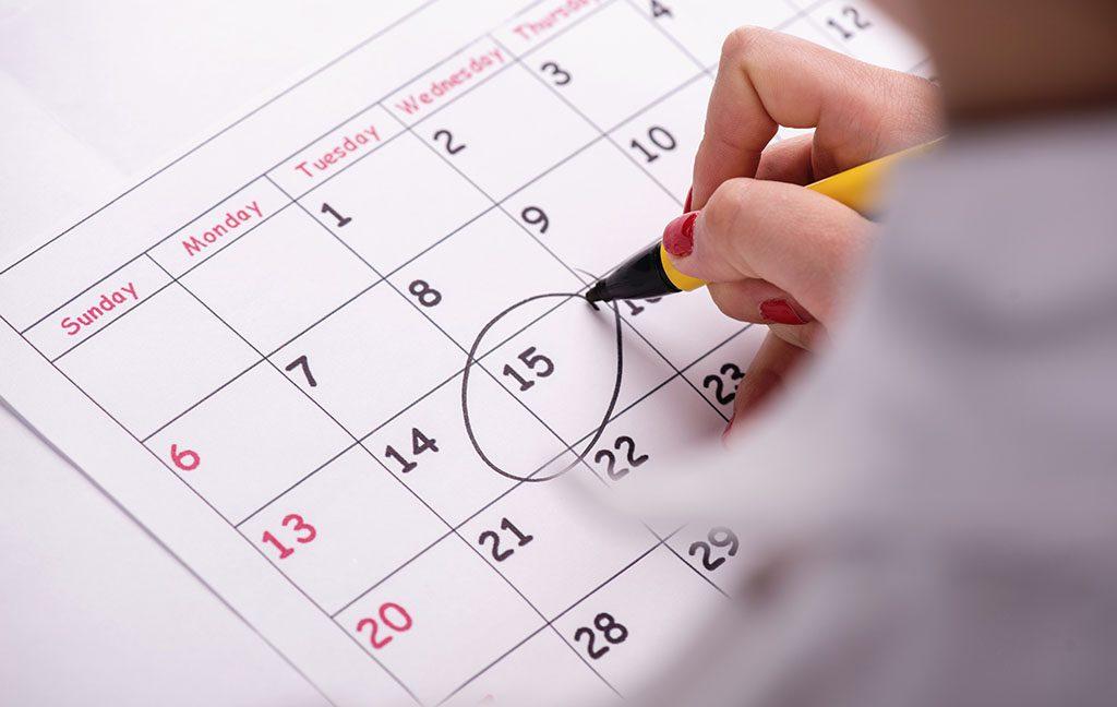 Fechas del calendario escolar en Inglaterra 2021-2022